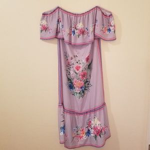 Umgee Off Shoulder Dress